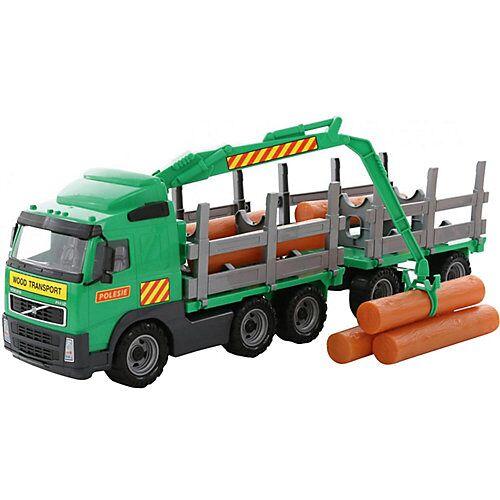 Wader VOLVO Truck Holzfrachter mit Anhänger
