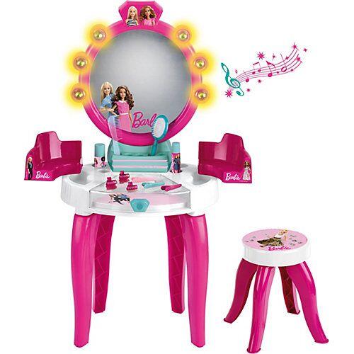 Klein Barbie Schminktisch mit Hocker inkl. Zubehör, pink
