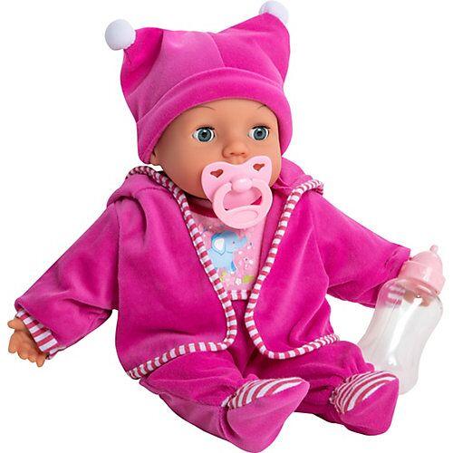 myToys Babypuppe Mara pink, 38 cm