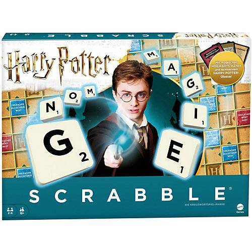 Mattel Games Scrabble Harry Potter, Gesellschaftsspiel, Brettspiel, Familienspiel