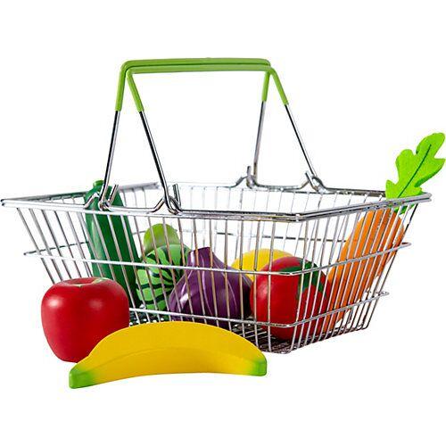 myToys Metallkorb mit Obst und Gemüse