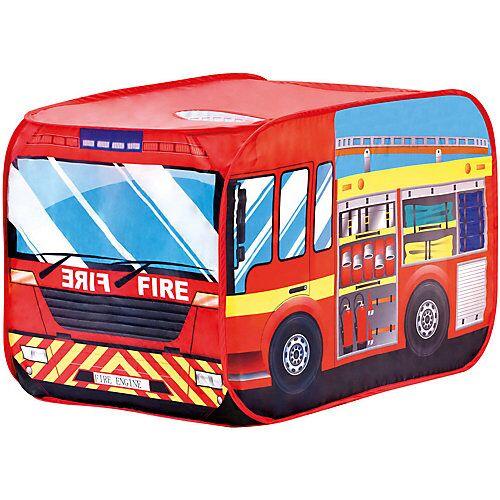 Bino Spielzelt Feuerwehrauto