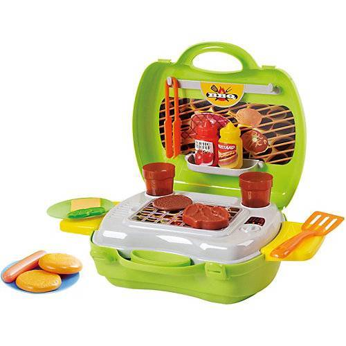 Playgo MY CARRY ALONG BARBECUE - 22 PCS