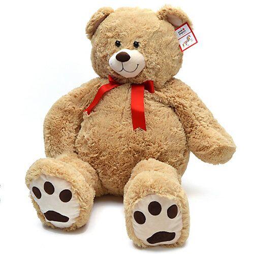 Pink Papaya 100 cm Riesen Teddy »Monti« beige
