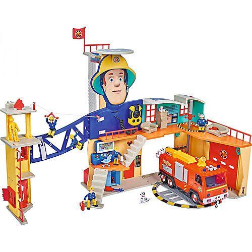 Simba Feuerwehrmann Sam Mega-Feuerwehrstation XXL