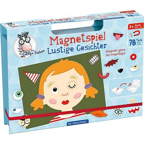 Spiegelburg Magnetspiel Lustige Gesichter Die Lieben Sieben