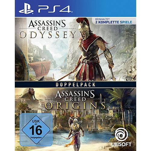 PS4 Assassin's Creed Odyssey + Assassin's Creed Origins