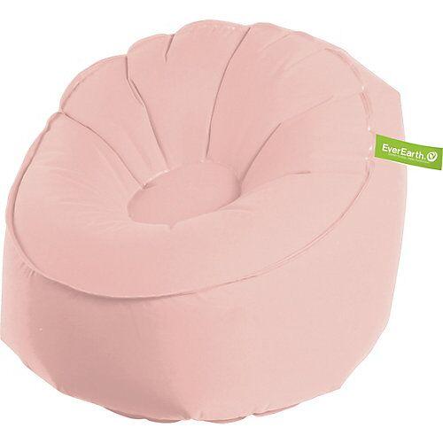 EverEarth Sitzsack, aufblasbar, rosa altrosa