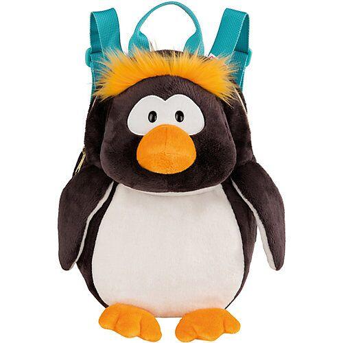 NICI Plüsch-Rucksack Pinguin Frizzy schwarz