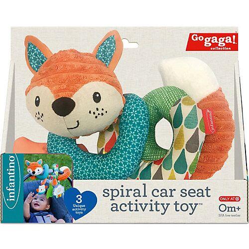 Infantino BKids GAGA - Spiralspielzeug den Autositz  Kinder