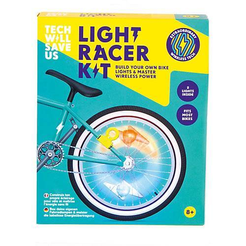 TECH WILL SAVE US® Light Racer Kit, Bauset Fahrradlicht