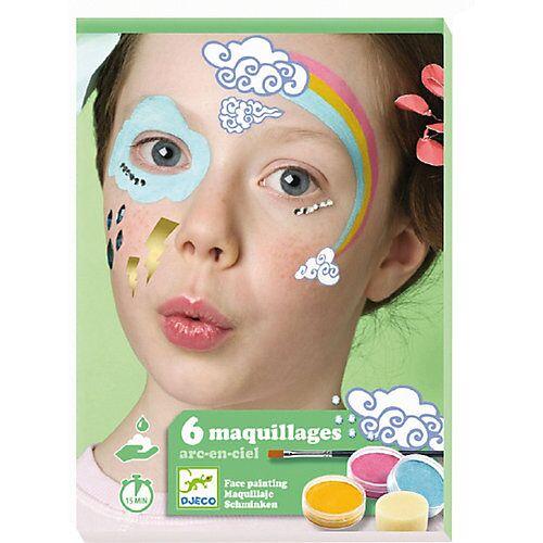 DJECO Kinderschminke-Set Regenbogen