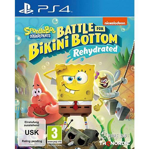 Spongebob PS4 Spongebob SquarePants: Battle for Bikini Bottom
