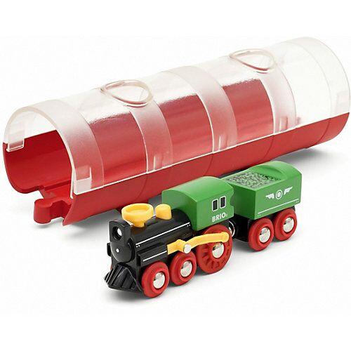 BRIO Tunnel Box Dampflokzug