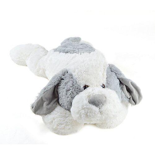 Pink Papaya XXL Plüschhund »Lou« grau/weiß