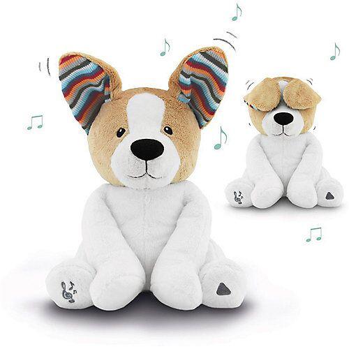 ZaZu Singender Hund Danny weiß