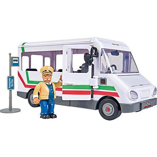 Simba Feuerwehrmann Sam Trevors Bus mit Figur