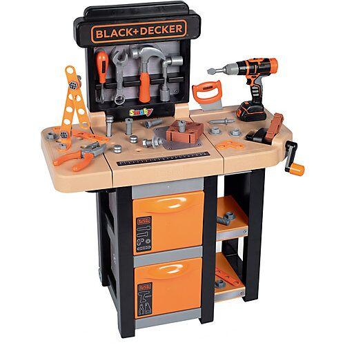 Smoby Black & Decker Faltbare Werkbank