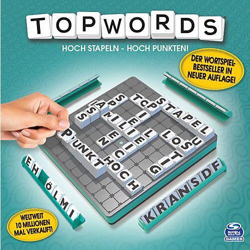 Spin Master Topwords - Der 3D-Wortspielklassiker, 2-4 Spieler ab 8 Jahren