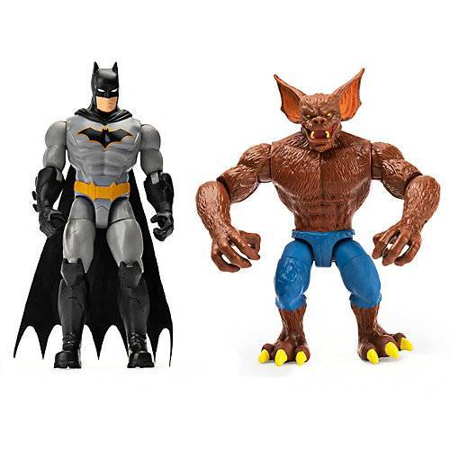 Spin Master Batman - 10cm 2-Pack Batman & Man Bat mehrfarbig