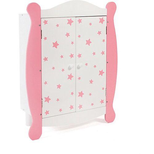 CHIC 2000 Puppen-Kleiderschrank pink