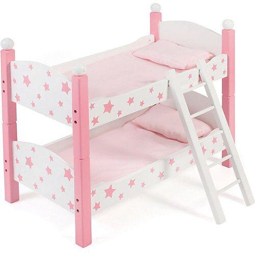 CHIC 2000 Puppen-Etagenbett pink
