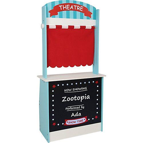 CHIC 2000 2 in 1 Kaufladen und Theater mehrfarbig