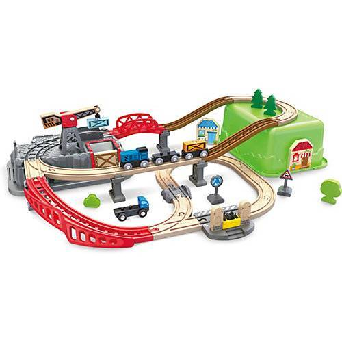 HAPE Eisenbahn-Baukasten-Set