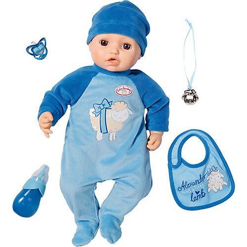 Zapf Creation Baby Annabell® Puppe Alexander 43 cm