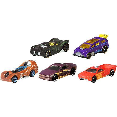 Mattel Hot Wheels 1:64 Die-Cast Color Shifters 5er Geschenkset, Spielzeugautos, Spielautos