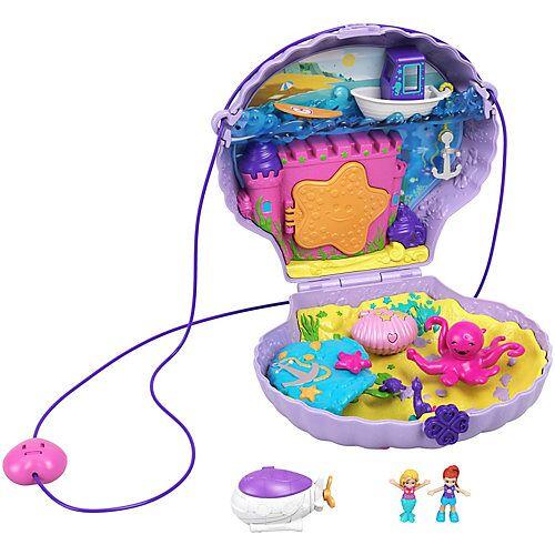 Mattel Polly Pocket Muschel-Tasche