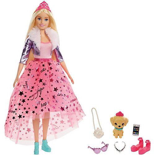 Mattel Barbie Prinzessinnen Abenteuer Puppe (blond), Prinzessin Puppe, Anziehpuppe