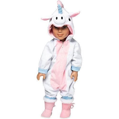 I'm a Girly - Einhorn Pyjama 48 cm Fashion Doll bunt  Kinder