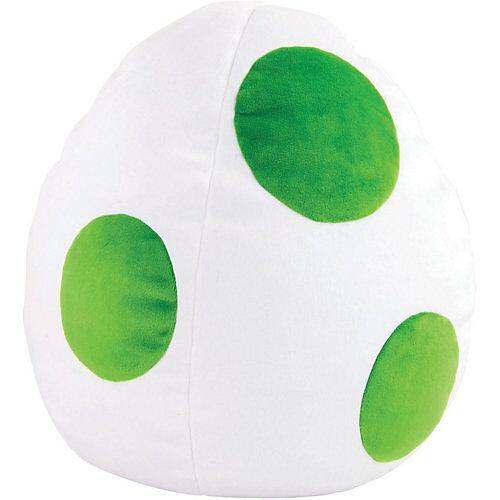 TOMY Plüschkissen Yoshi Egg Mocchi Mocchi, 33 x 28 cm grün/weiß