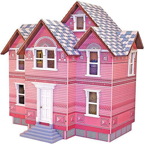 Melissa & Doug Viktorianisches Puppenhaus Holz