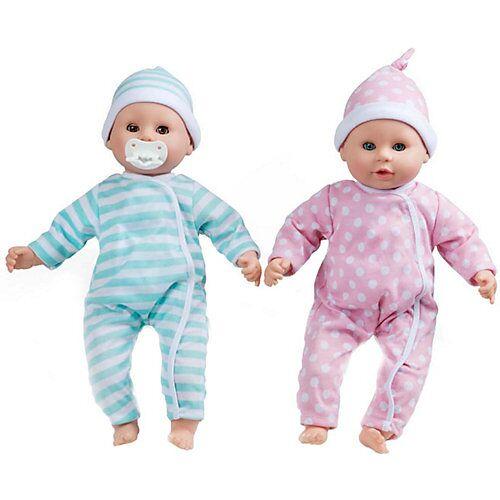 Melissa & Doug Babypuppen-Zwillinge Luke & Lucy
