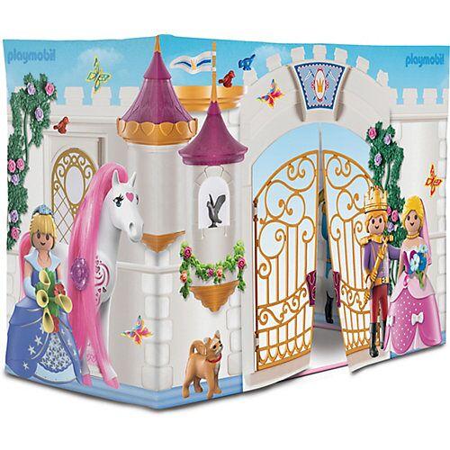 PLAYMOBIL® Playmobil Prinzessinnen-Schloss-Spielzelt beige/rosa