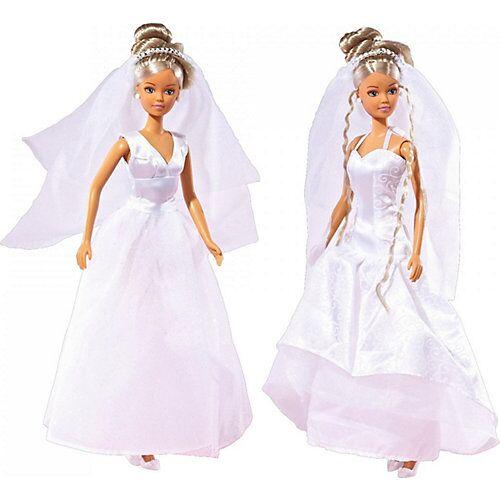 Simba Steffi in Hochzeitskleid
