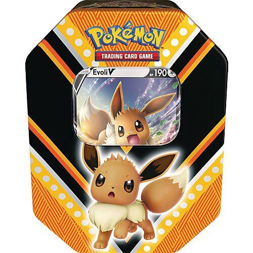 Amigo Pokémon V-Power Evoli Tin 89 beige