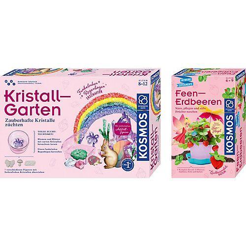 Kosmos Bundle Pink Science: Kristall-Garten + Feen-Erdbeeren