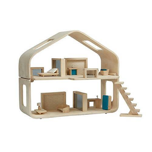 Plan Toys Puppenhaus Modernes Puppenhaus mehrfarbig