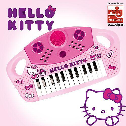 Hello Kitty Keyboard Organo Electronico 25 Teclas weiß/beige