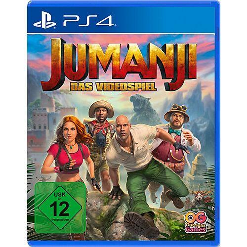 ak tronic PS4: Jumanji Das Videospiel