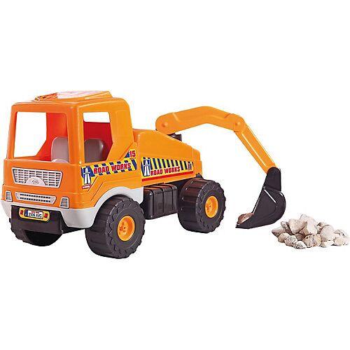 Baggerlader Sandspielzeug orange