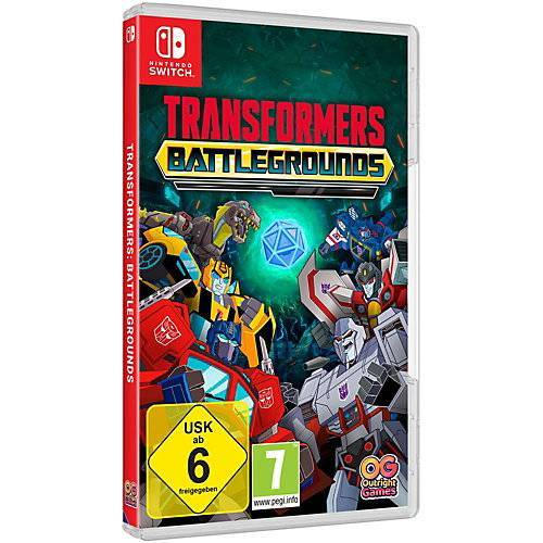 Transformers Nintendo Switch Transformers: Battlegrounds