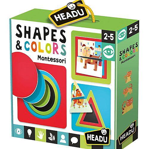 HEADU Montessori Formen & Farben