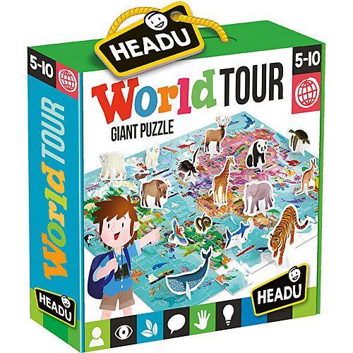 HEADU Riesenpuzzle World Tour