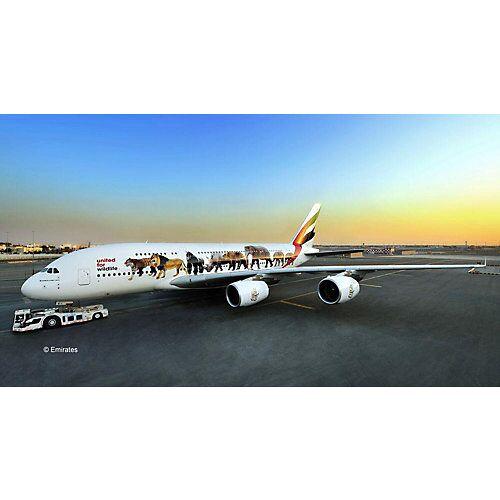 "Revell ""Airbus A380-800 Emirates """"Wild Life"""" 1:144"""