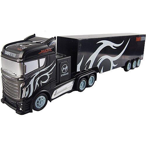 Amewi Sattelzug mit Container 1:16 - 2,4GHz, 15 km/h schwarz-kombi