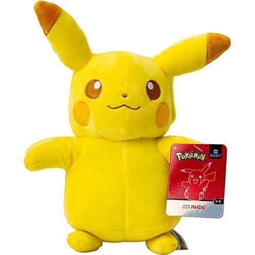 Pikachu Monochrom Plüsch 20cm gelb